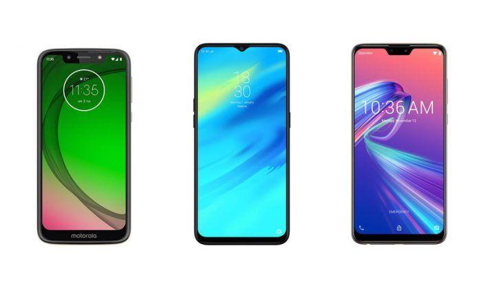 Moto G7 Play vs Realme 2 Pro vs ASUS Zenfone Max Pro M2