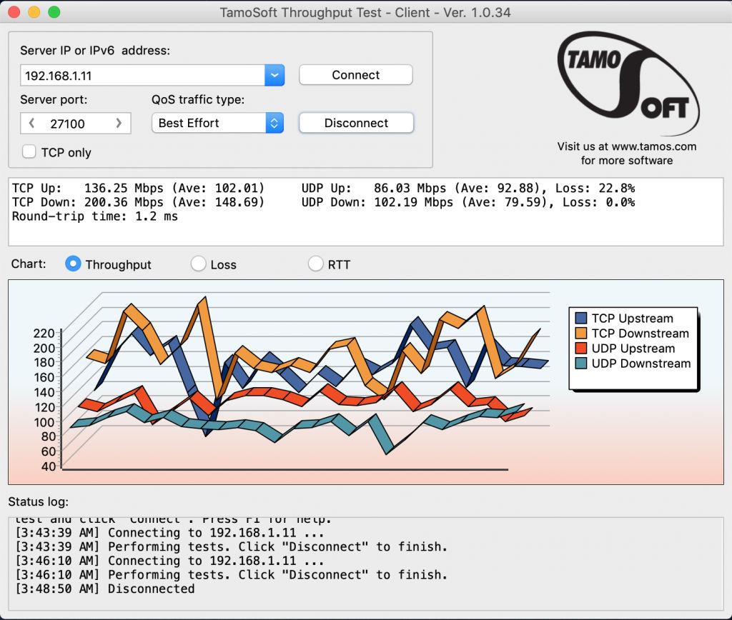 Netgear Orbi RBK20 - Wi-Fi Performance 2.5 Meters
