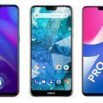 OPPO K1 vs Nokia 7.1 vs Vivo V9 Pro