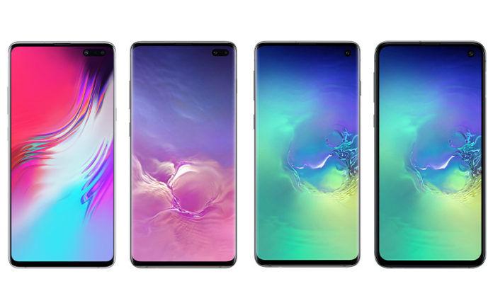 Samsung Galaxy S10e, Samsung Galaxy S10, Samsung Galaxy S10 Plus, Samsung Galaxy S10 5G