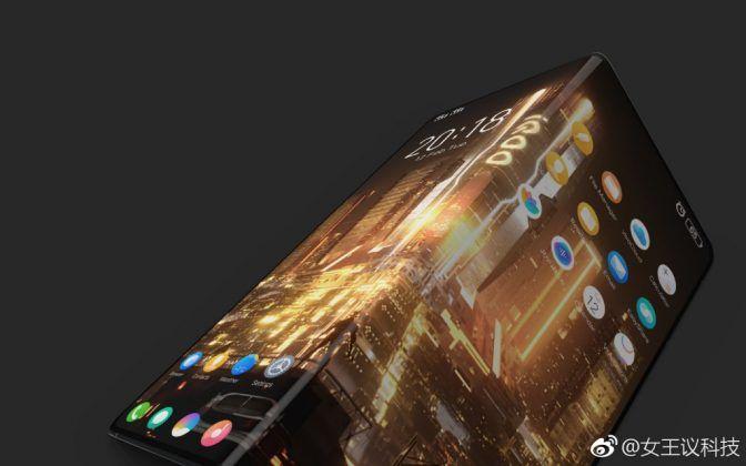 Vivo iQOO leaked Smartphone Render 01