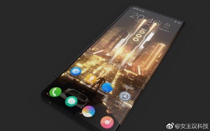 Vivo iQOO leaked Smartphone Render 02