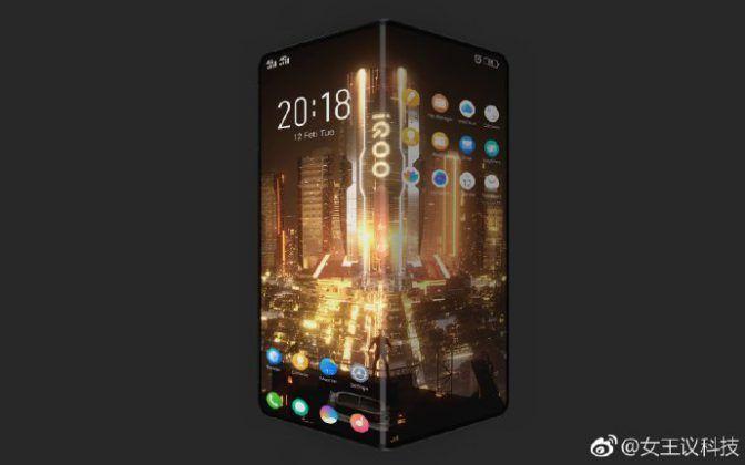 Vivo iQOO leaked Smartphone Render 04