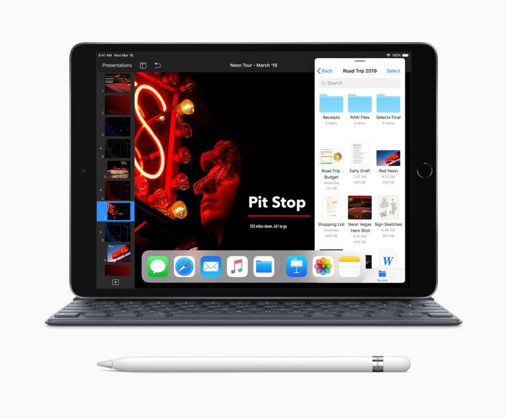 Apple iPad Air (2019) Black With Smart Keyboard & Apple Pencil