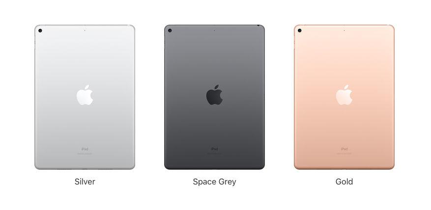 Apple iPad Air (2019) Colors