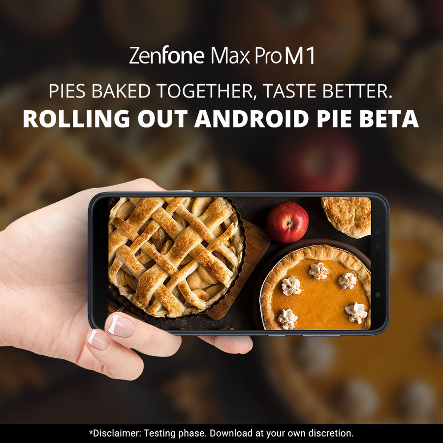 Asus Zenfone Max Pro M1 Power User Program For Android 9 Pie Beta