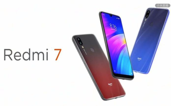 Redmi 7 Launch China