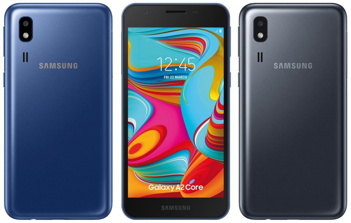 Samsung A2 Core Android Go Leaked Render