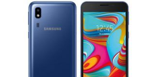 Samsung Galaxy A2 Core FCC Certified