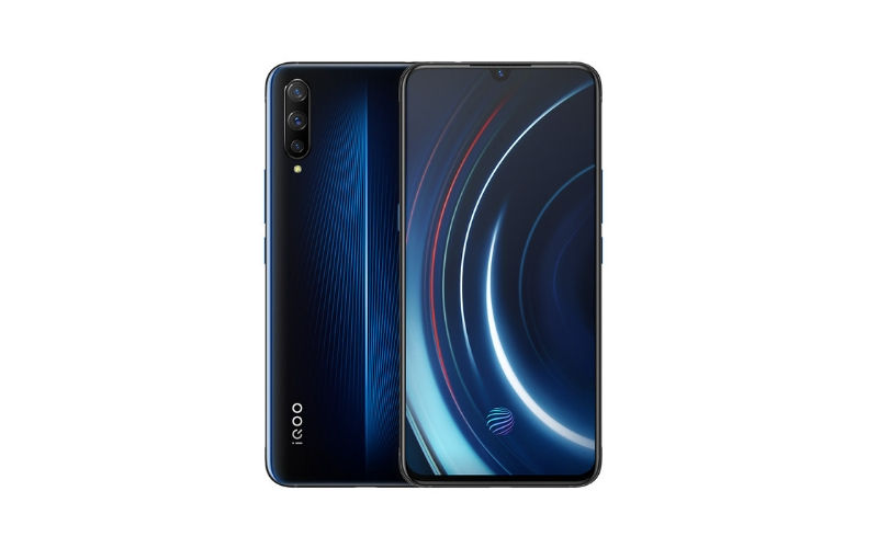Vivo iQOO Electro Optic Blue