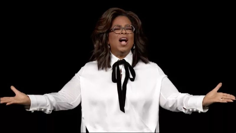 Oprah at Apple TV+ launch