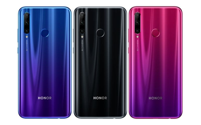Honor 20i on Geekbench