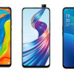 Huawei P30 Lite vs OPPO F11 Pro vs Vivo V15