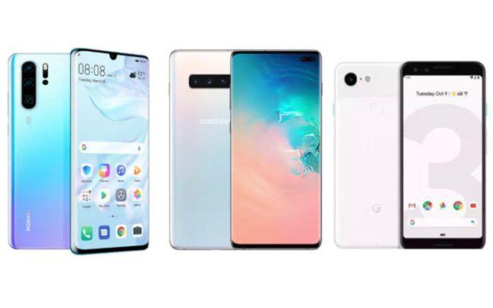 Huawei P30 Pro vs Samsung Galaxy S10 Plus vs Google Pixel 3