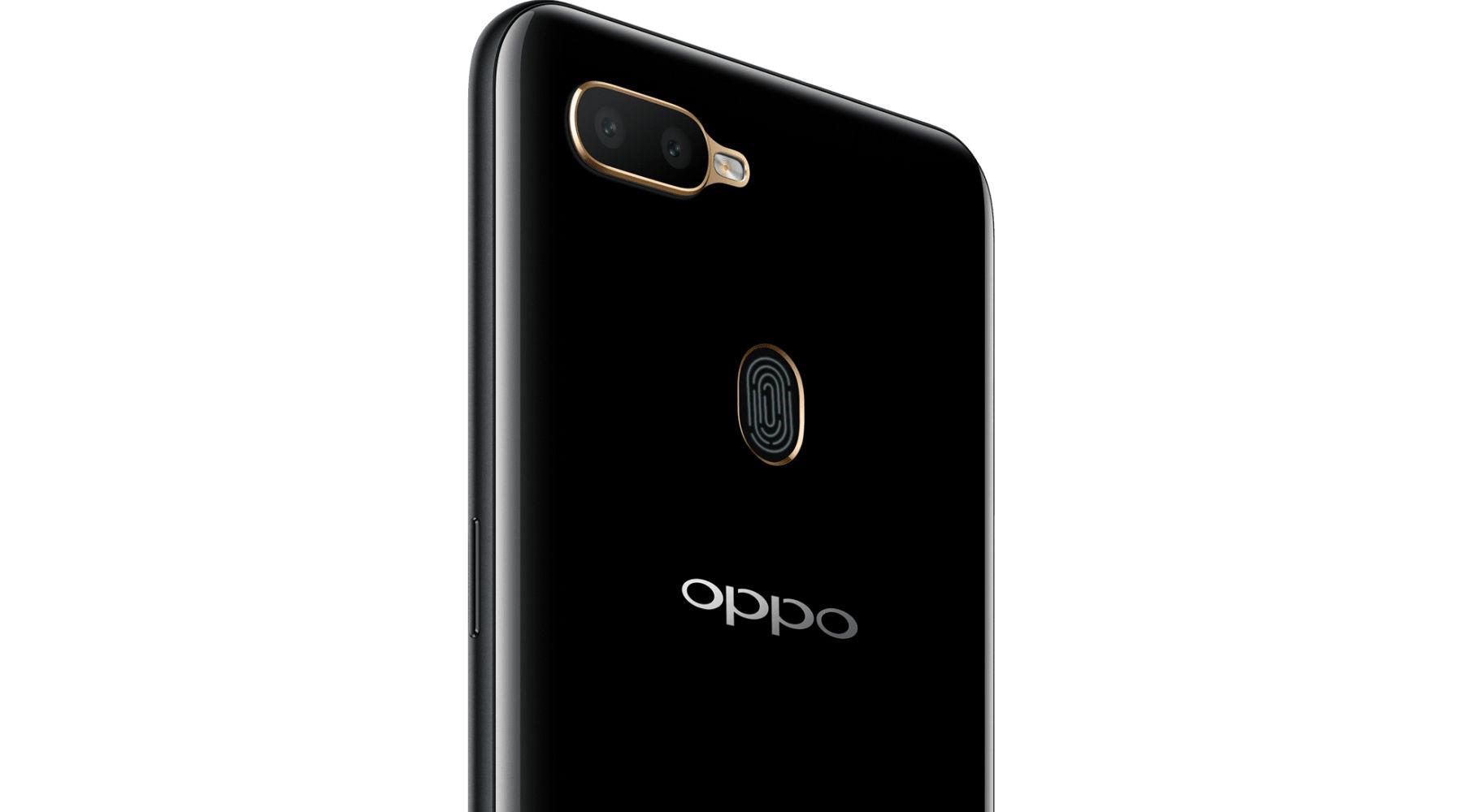 OPPO A5s Camera Rear Fingerprint Scanner