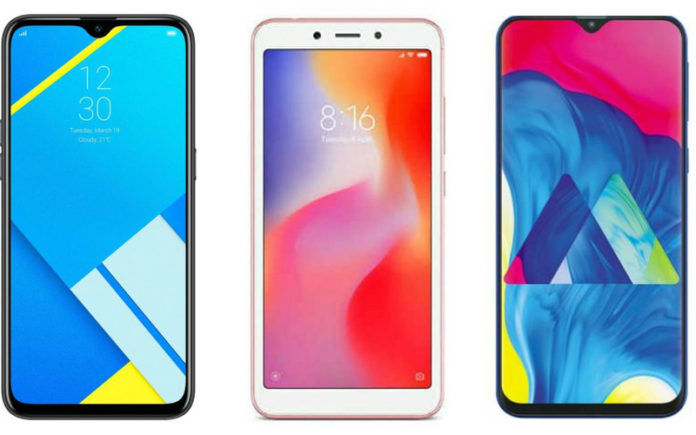 31db4a1dd37 Realme C2 vs Xiaomi Redmi 6A vs Samsung Galaxy M10  Price in India ...