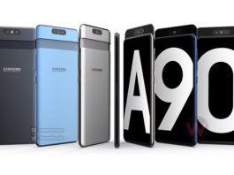Samsung Galaxy A90 3D Render Video