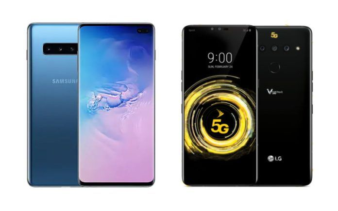 Samsung Galaxy S10 5G vs LG V50 ThinQ 5G