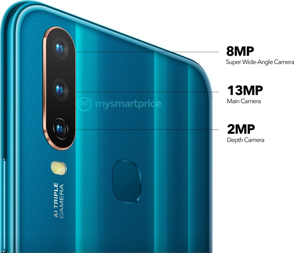 Vivo Y17 Triple Camera Specifications