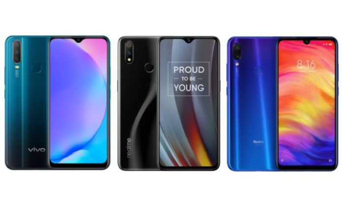 8102bac8037 Vivo Y17 vs Realme 3 Pro vs Redmi Note 7 Pro  Price in India ...