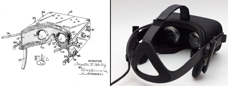 VR patent from 1960