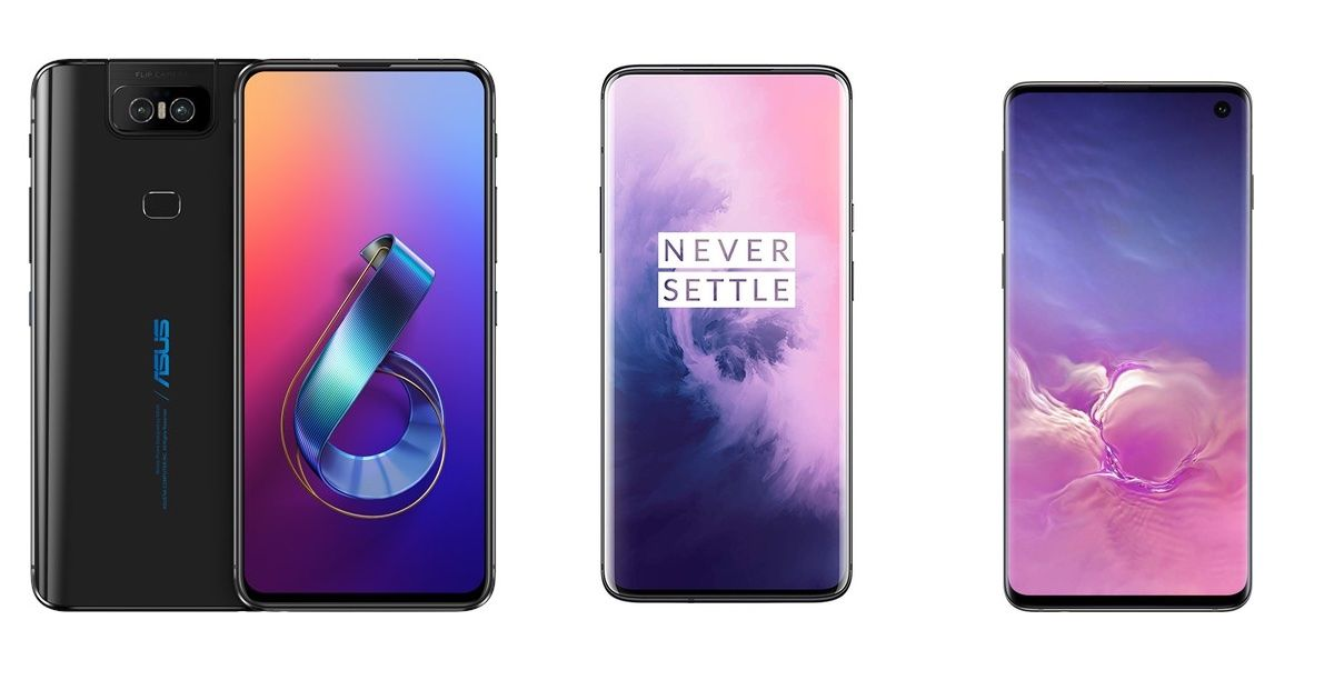 ASUS Zenfone 6 vs. OnePlus 7 Pro vs. Samsung Galaxy S10: Which Phone is a Better Choice? - MySmartPrice
