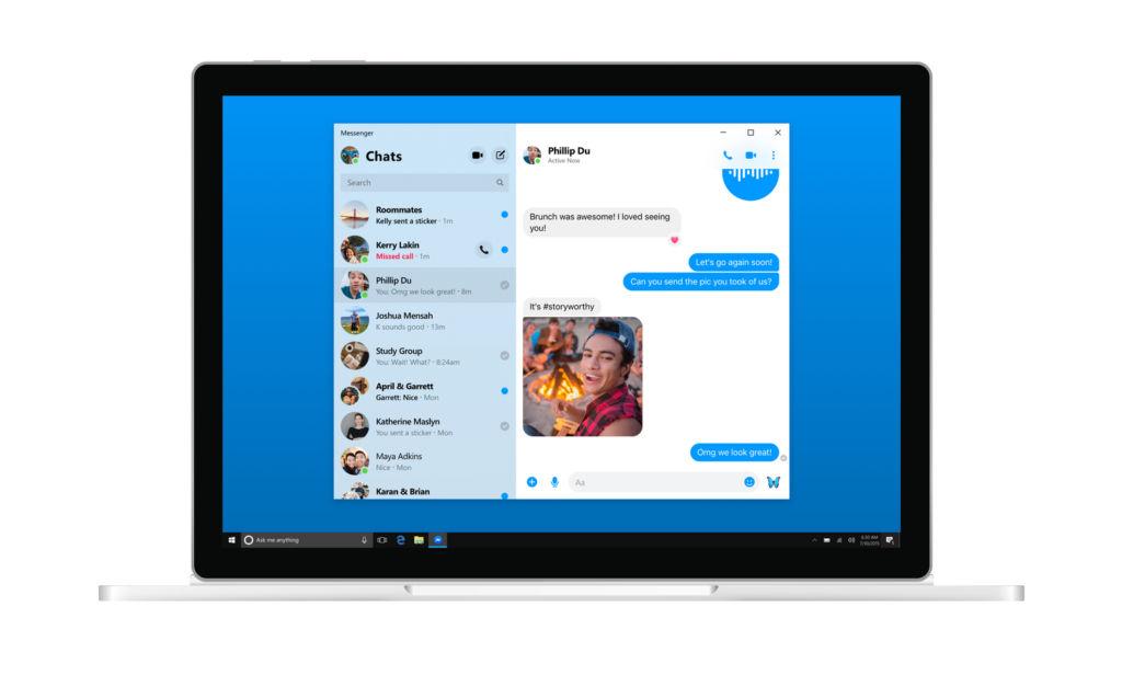Facebook Messenger Windows 10 Desktop