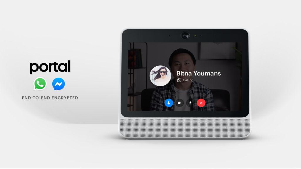 Facebopok Portal WhatsApp Video Calls