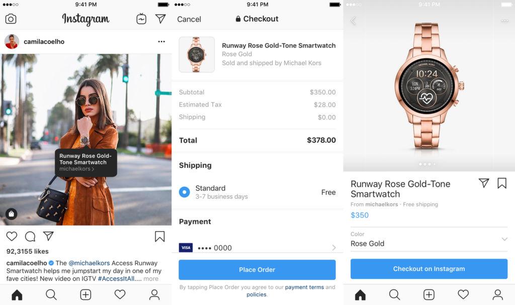 Instagram Shopping Redesign