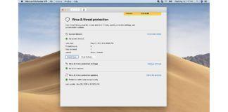 Microsoft Defender ATP Antivirus Software on Apple macOS