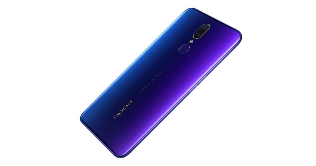 OPPO F11 Cover Fluorite Purple