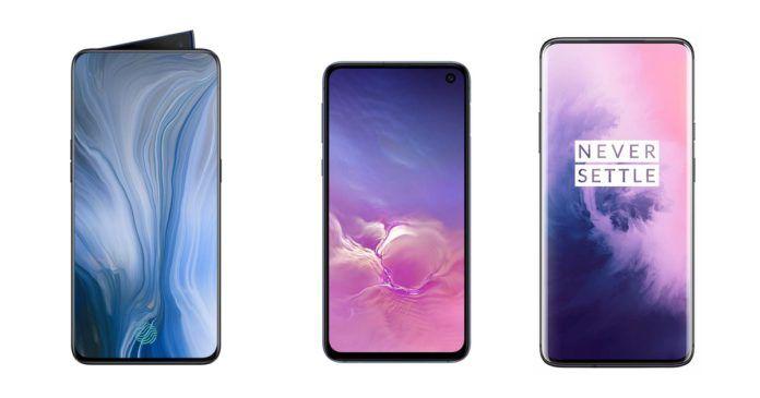 OPPO Reno 10x Zoom vs Samsung Galaxy S10e vs OnePlus 7 Pro