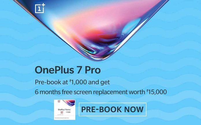 OnePlus 7 Pro Pre-bookings Begin on Amazon India, Offers 6