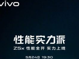 Vivo Z5x Launch Poster
