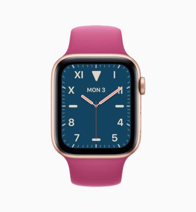 Apple WatchOS Watch Face - 01
