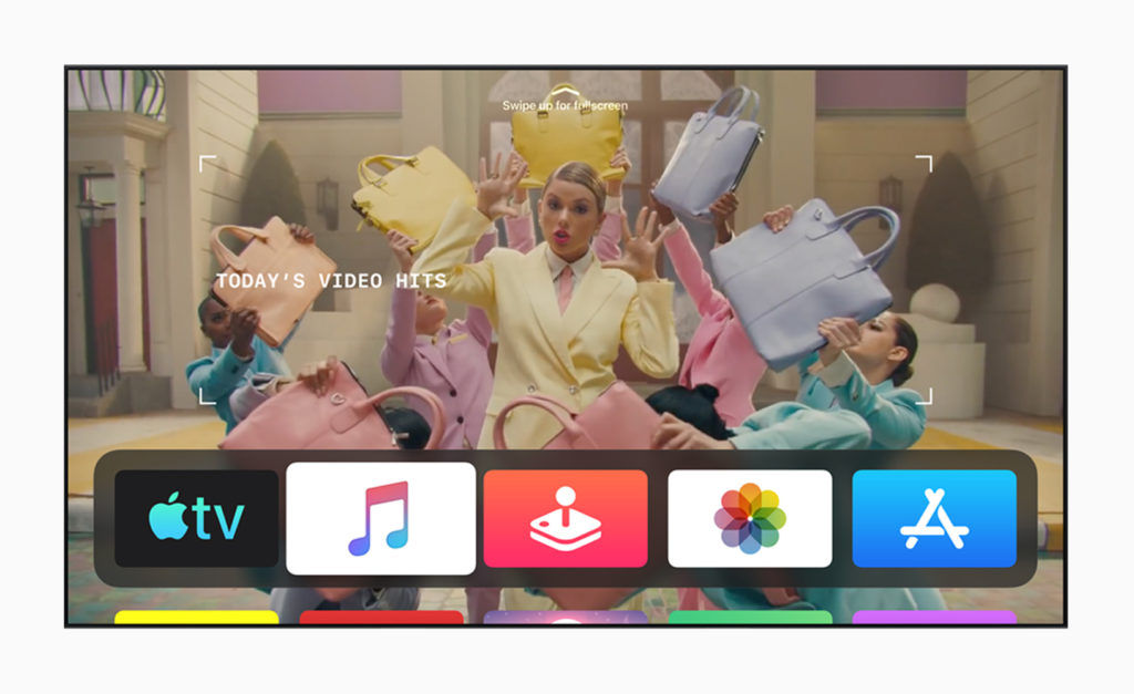 Apple tvOS 13 Home Screen Full-Screen Video Previews