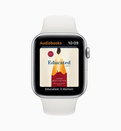 Apple watchOS 6 Audiobooks App