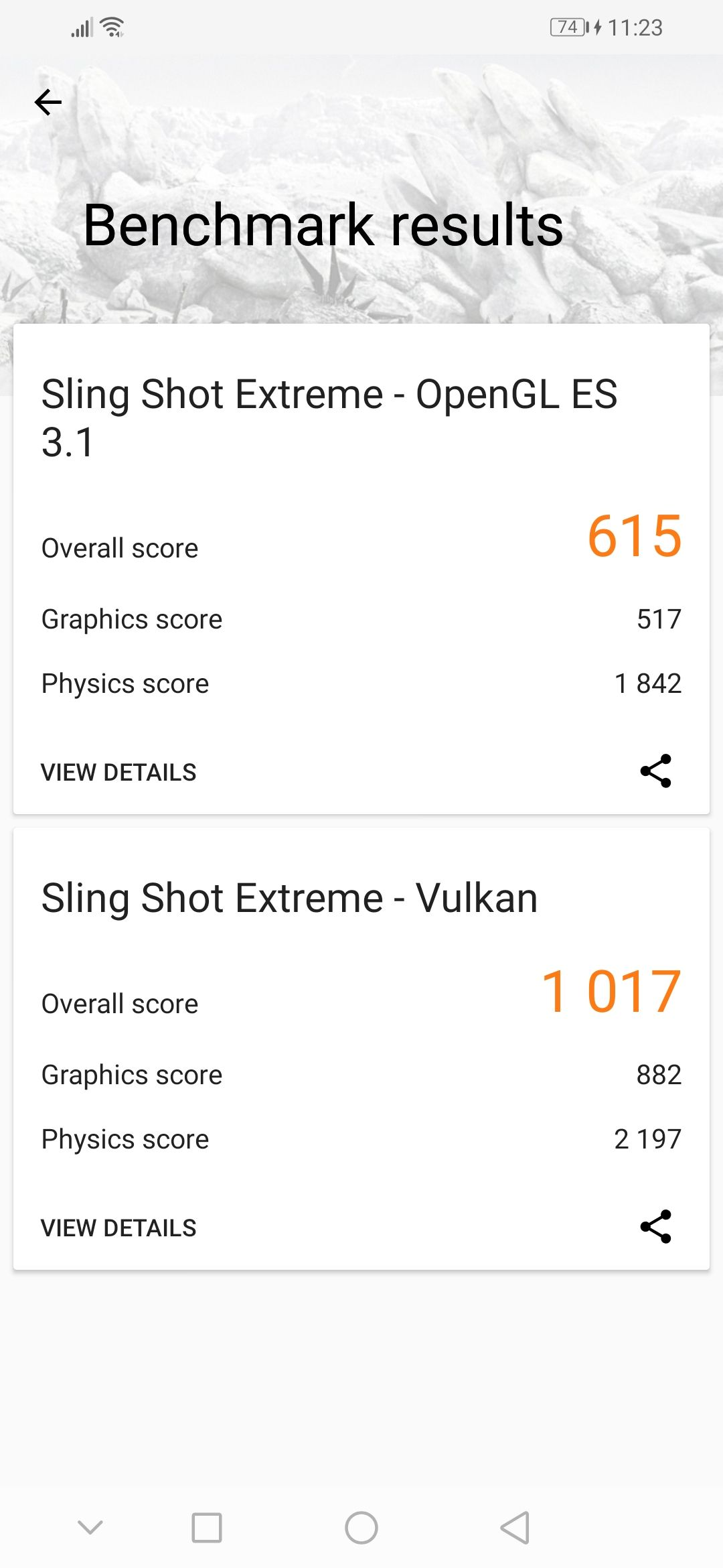 Honor 20i Benchmark 3DMark