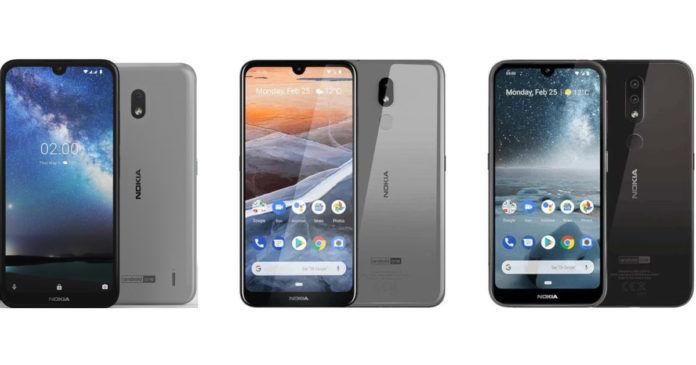 Nokia 2.2 vs Nokia 3.2 vs Nokia 4.2