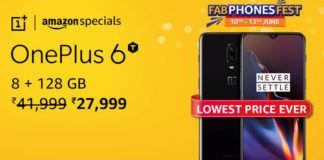 OnePlus 6T Amazon fab phone fest