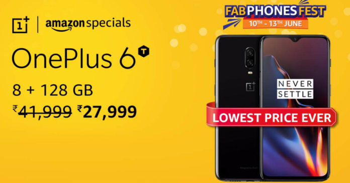 OnePlus 6T Amazon fab phone fest