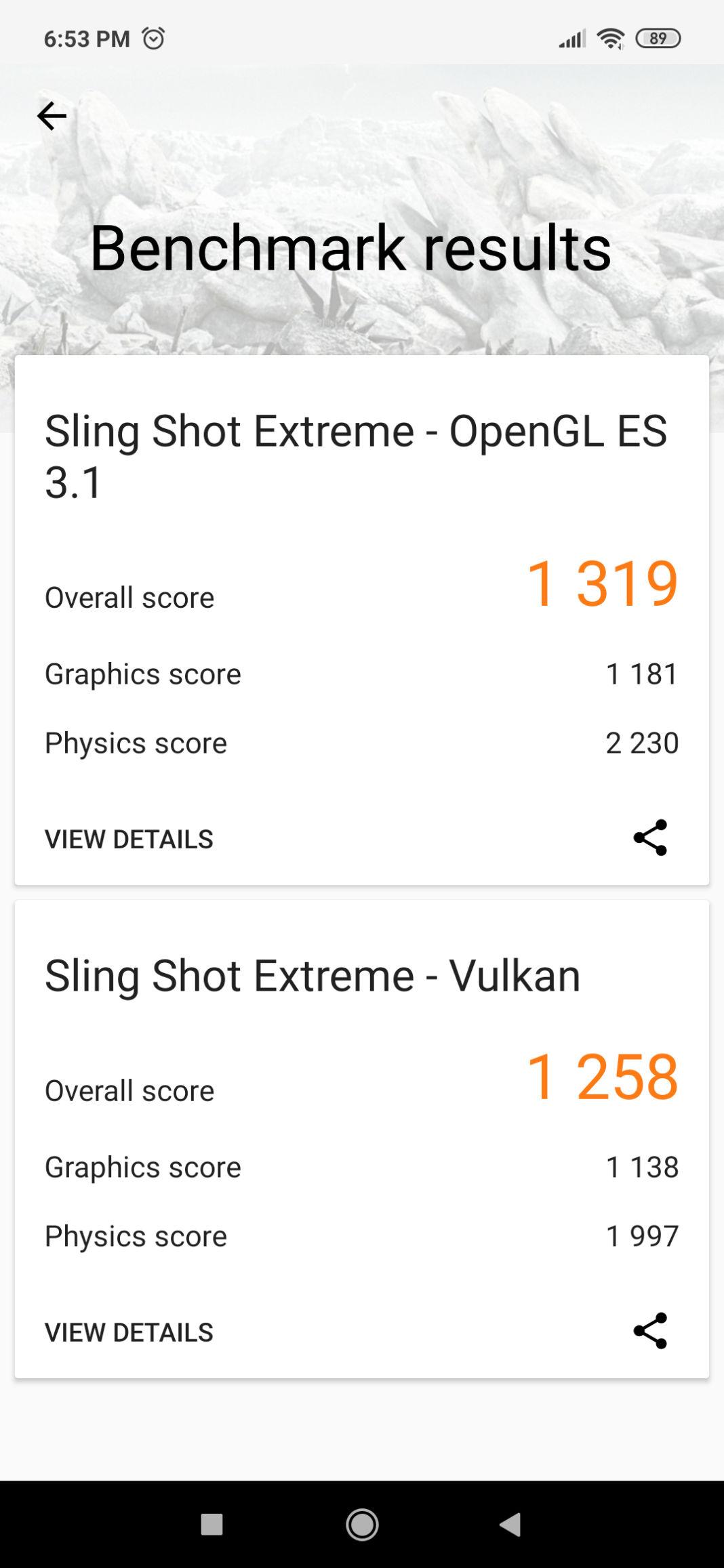 Xiaomi Redmi Note 7S Benchmark 3DMark