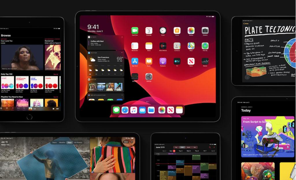 iPadOS Dark Mode