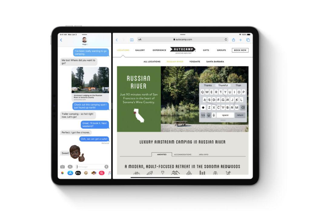 iPadOS Mini Keyboard Layout