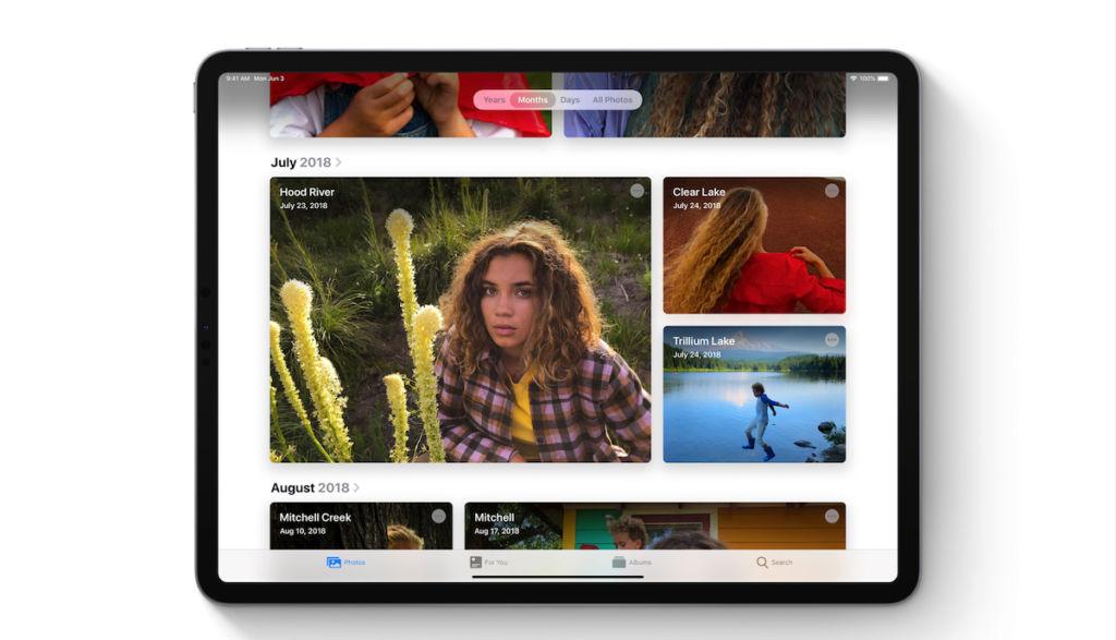 iPadOS Photos App
