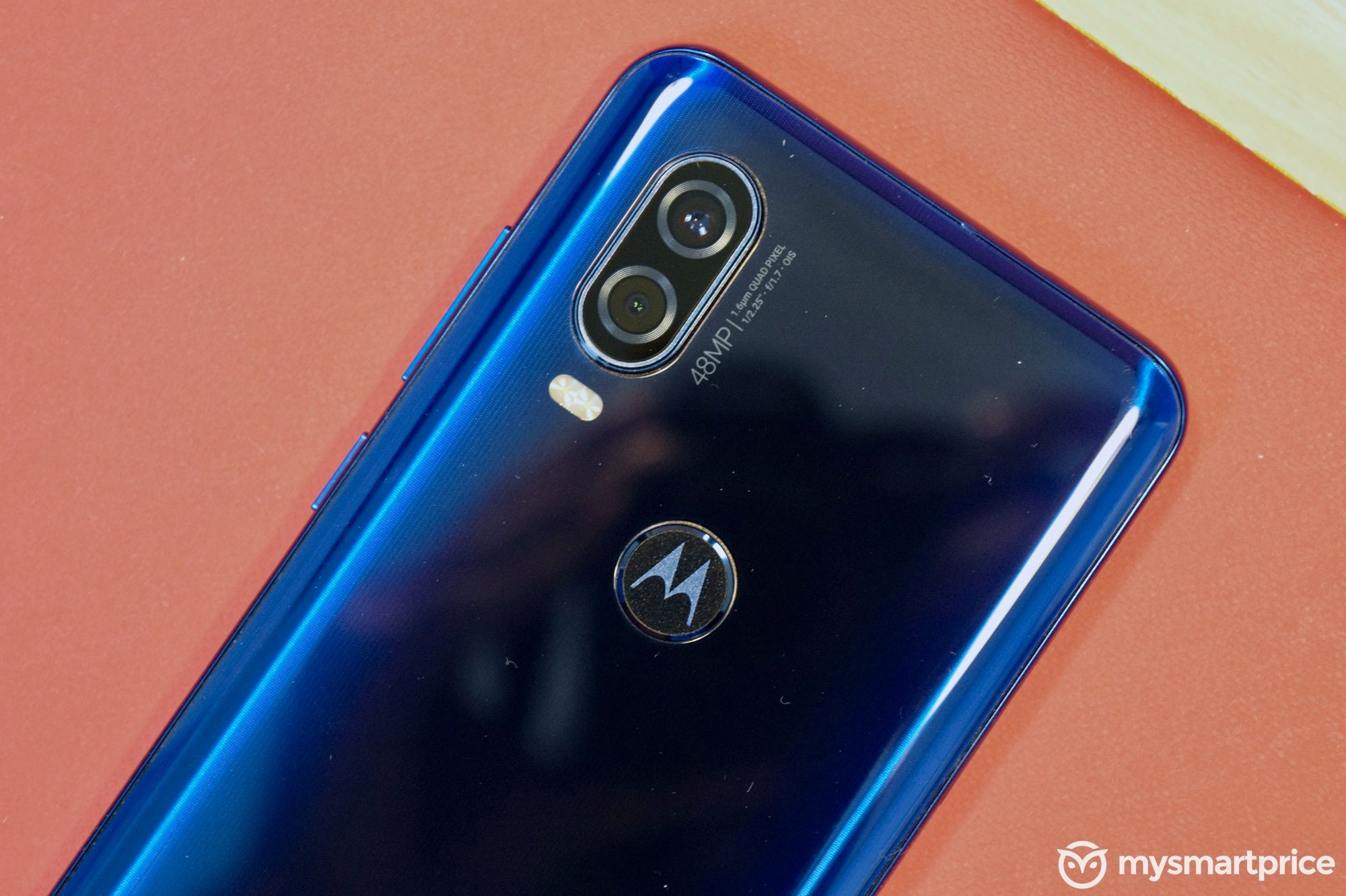 Motorola One Vision Fingerprint Reader