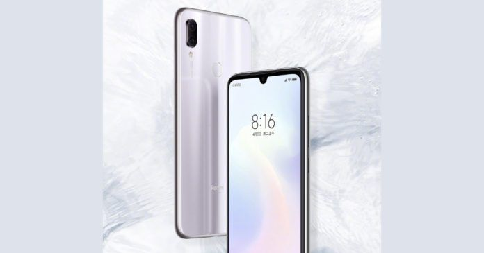 Redmi Note 7 Series White Color Unveiled China