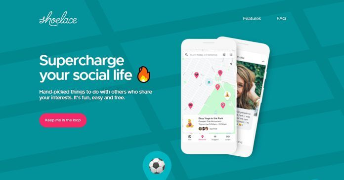 Shoelace Hyperlocal Social Network App