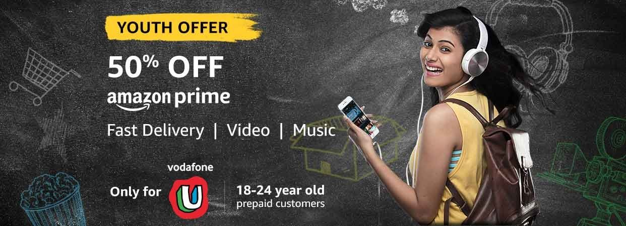 Vodafone Amazon Prime Youth Offer