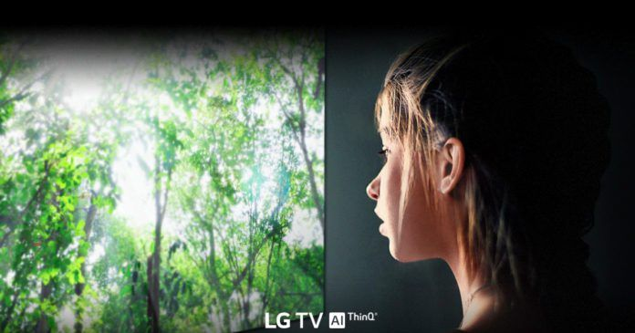 LG TV line-up